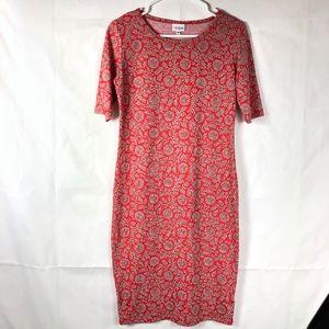 Lularoe Women's Julia Dress Short Sleeve R78P